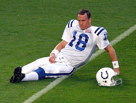 Peyton Manning Gay? Probably Not But A Can Can Dream.
