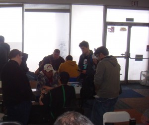 Adam Klynsma (Black With Green) at 2011 Pokemon MN States