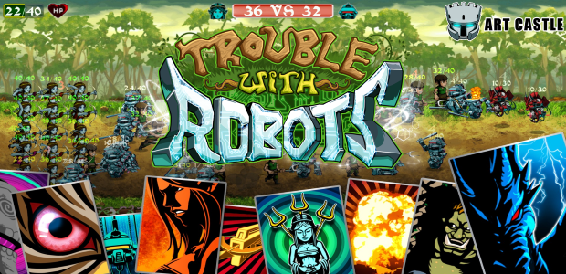 iOS/Android Collectible Card Game, Trouble With Robots
